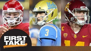 2018 NFL mock draft: First Take reacts to Todd McShay