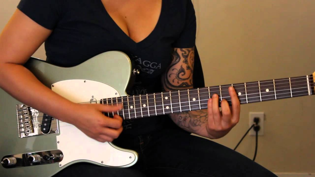 how to play back in black chorus