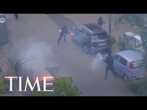 Anti-Globalization Activists Spark Violent Protests In Response To The G20 Summit In Hamburg | TIME