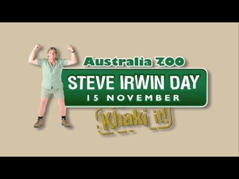 Australia Zoo Steve Irwin Day Youtube