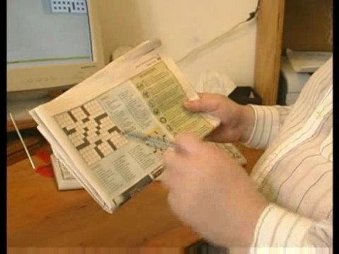 How To Do Crossword Puzzles : Crossword Puzzle Crossgrid
