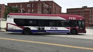PVTA #1811 on Route P-21E