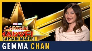 Gemma Chan Talks 'Captain Marvel'