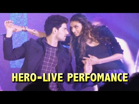 Sooraj Pancholi & Athiya Shetty Live Dance Perfomance on Hero Movie Songs