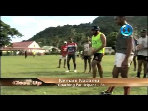 Rugby Plus on Fiji TV Close UP
