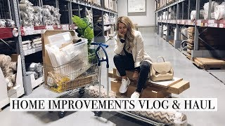 Home Upgrades | H&M Home and Ikea Haul