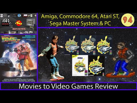 Movies to Video Games Review - Back to the Future Part II (Amiga, C64, DOS, SMS, Atari ST)