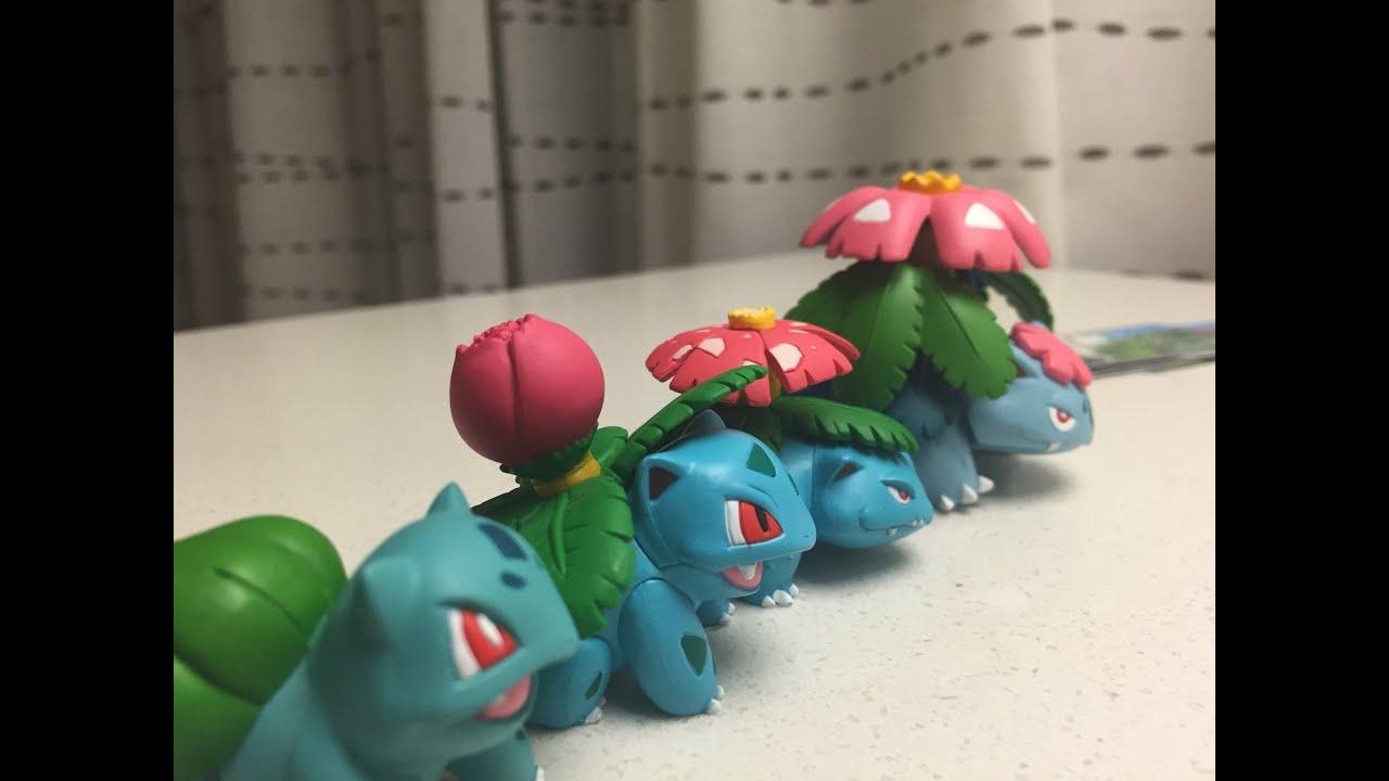 Pokemon Bulbasaur Mega Evolution Set review - YouTube