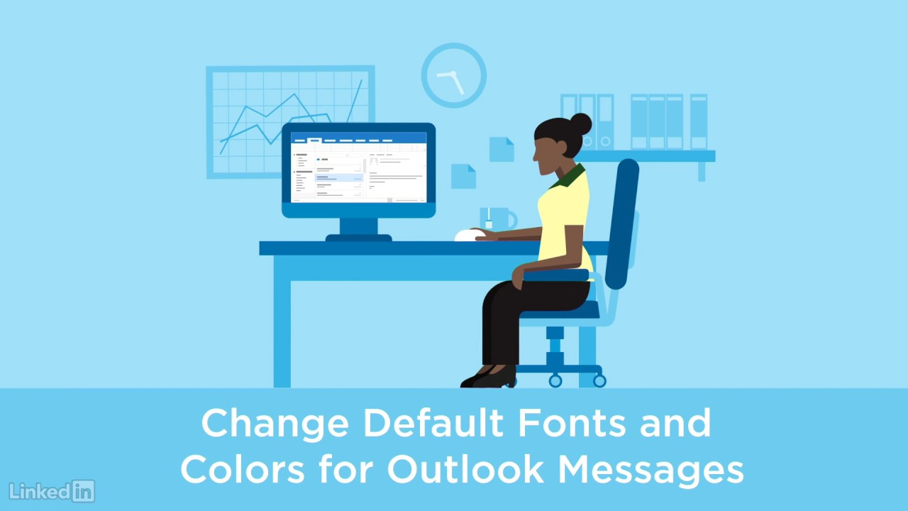 How to color inbox in outlook - Choose The Default Font Or Text Color For Emails In Outlook