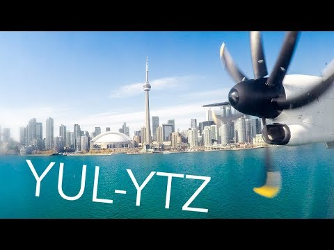 NEW LIVERY Air Canada Express (Jazz) Montreal-Toronto YTZ |