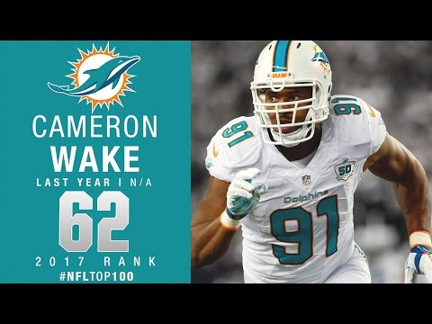 #62: Cameron Wake (DE, Dolphins) | Top 100 Players of 2017 | NFL
