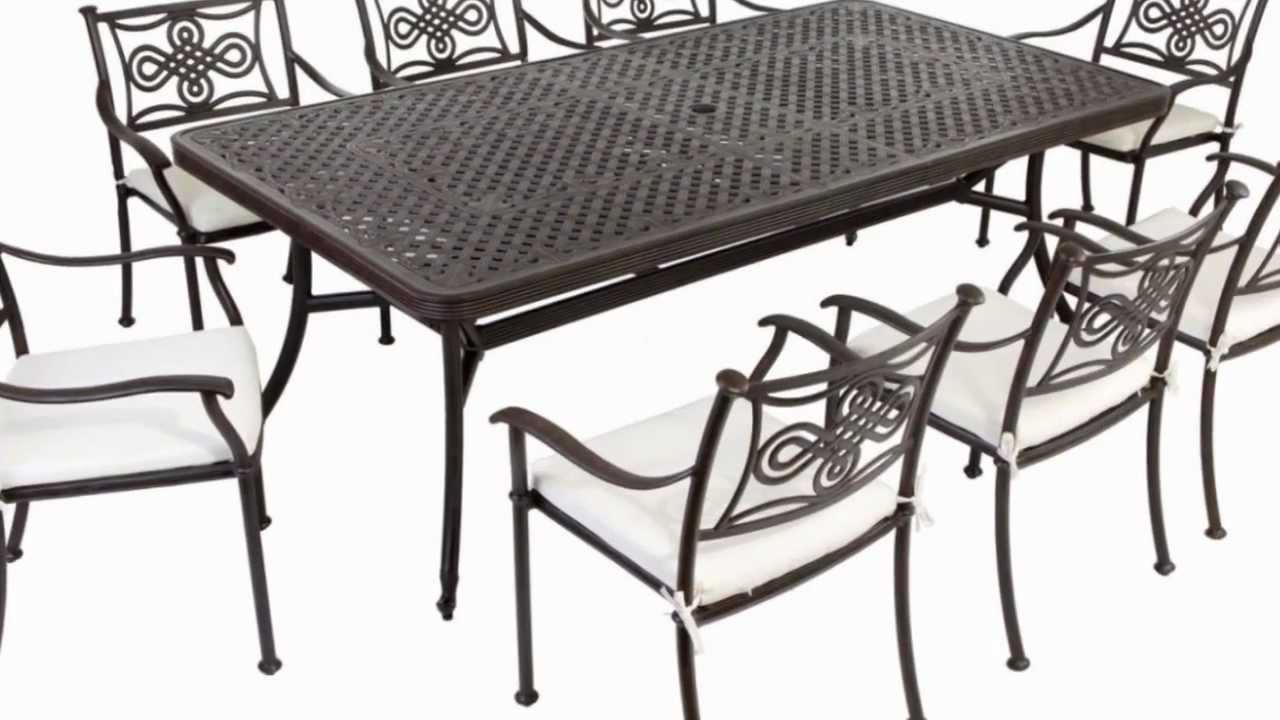 Aluminum Patio Furniture Cast