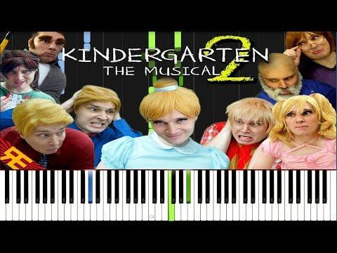 KINDERGARTEN 2: The Musical - Random Encounters [Synthesia Piano Tutorial] thumbnail