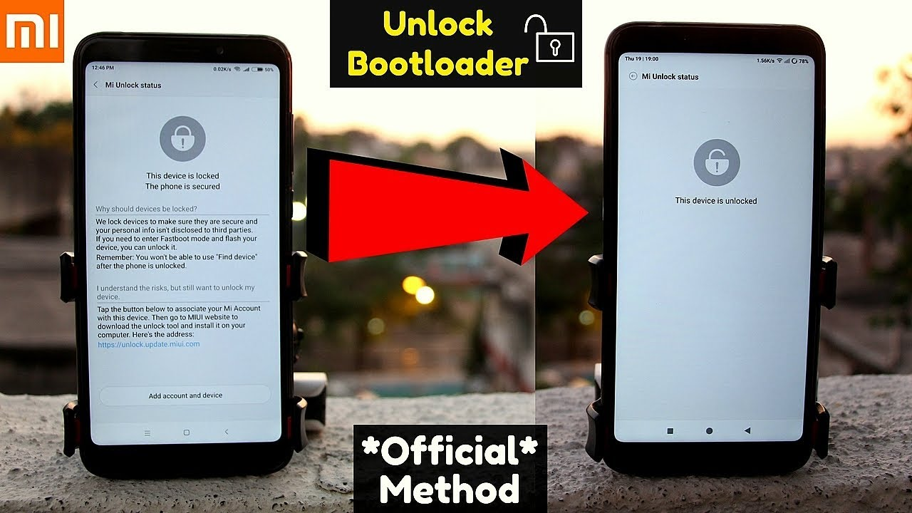Unlock Bootloader Of Redmi Note7,Note 6 Pro,7 Pro   OR Any Xiaomi Phone  Without Binding Account