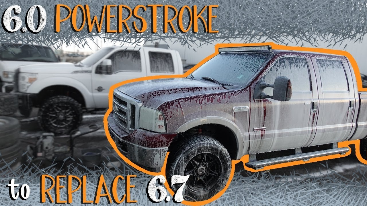 cheap ford 6 0 powerstroke f250 gets some upgrades  [ 1280 x 720 Pixel ]