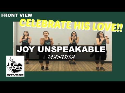 JOY UNSPEAKABLE || MANDISA || P1493 FITNESS® || CHRISTIAN FITNESS