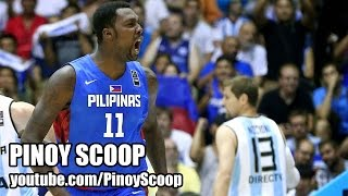 Gilas Pilipinas Fell Short To Ranked Number 3 Argentina, 85-81