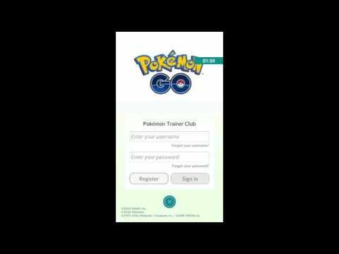 Pokemon GO .Como fazer uma conta, e se registrar [PT-BR]