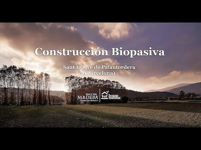 House Habitat construcción biopasiva Sant Esteve de Palutordera 2 (Barcelona)