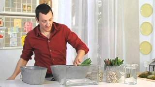 How To Make A Floral Centerpieces Using Vase Fillers | Pottery Barn