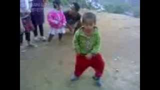 khasi boy 2 yrs old dance like M.J amazing!!!