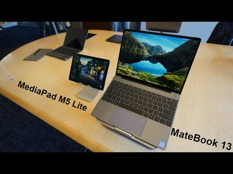 Update: Hands-on] Huawei MediaPad M5 Lite is coming to the