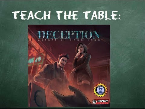 How to play Deception: Murder in Hong Kong in 4 minutes
