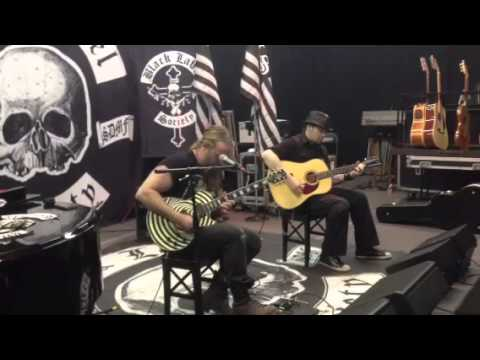 Book Tour of Doom rehearsal footage...