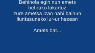 Amets Bat (alaitz Eta Maider)