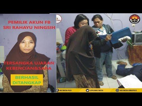 Sri Rahayu Ningsih Alias Ny. Sasmita  Ditangkap Aparat