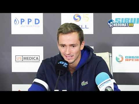Даниил Медведев — о победе на St. Petersburg Open 2019