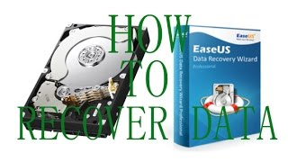 How to Install, Crack & Use EaseUS Data Recovery (2016)