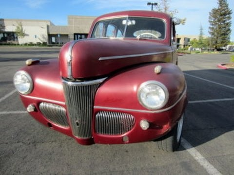 1941 ford 4 door sedan on youtube for 1941 ford 4 door