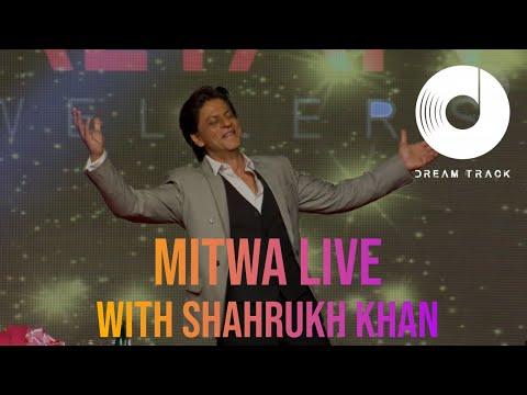 MITWA | KABHI ALVIDA NAA KEHNA | VIOLIN LIVE | SHAHRUKH KHAN IN DUBAI WITH DREAM TRACK BAND