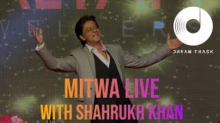 SHARUKH KHAN DANCES WITH BINESH BABU LIVE  DREAM TRACK BAND!!!