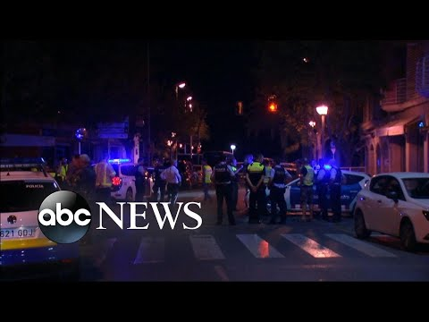Thumbnail: Manhunt on after deadly Barcelona attack