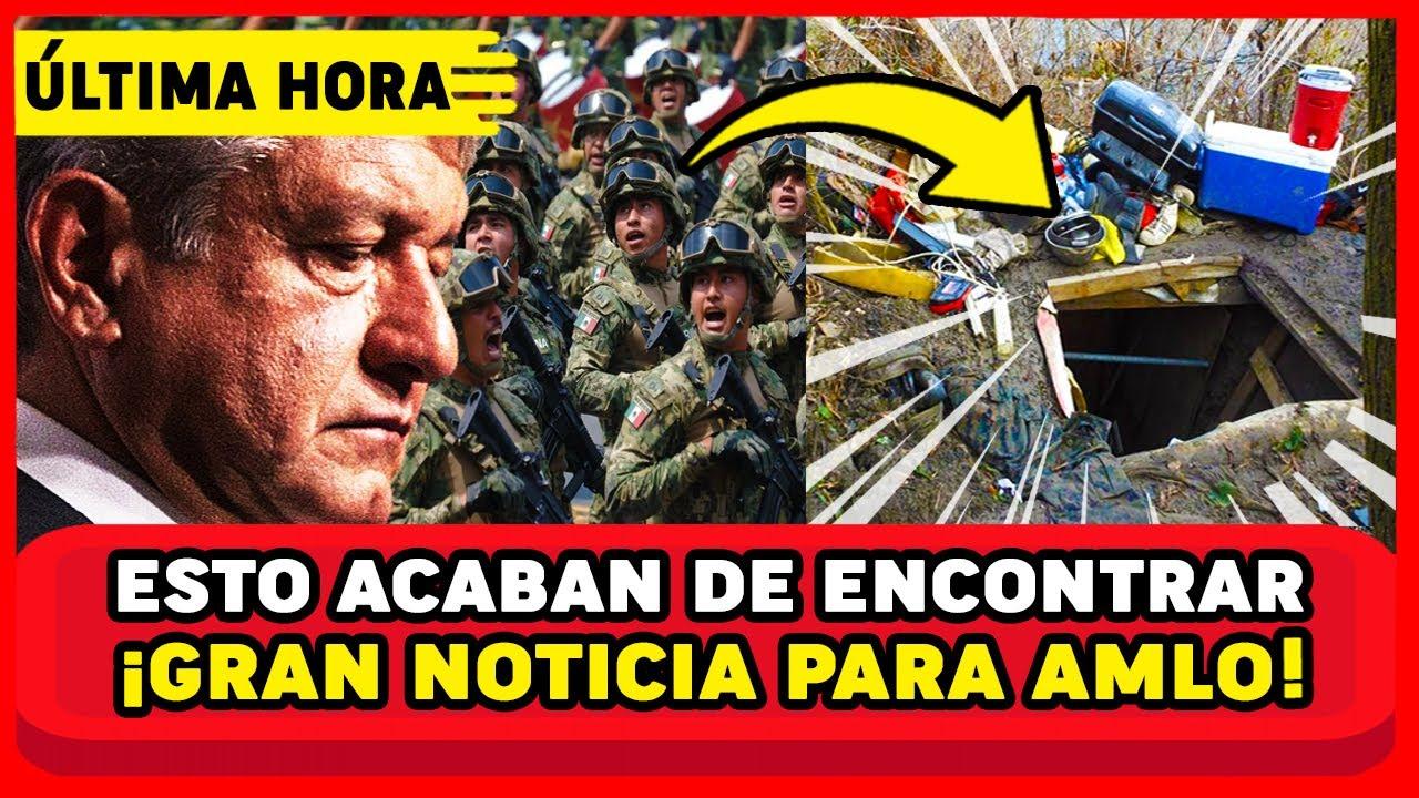 ESTO ES GRAVE PASÓ DE MADRUGADA! FUERTE OPERATIVO DE GN ENCUENTRA ESTO Y SORPRENDE A AMLO Y MEXICO