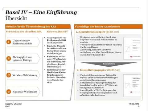 German Basel IV-Channel, Eine Einführung, 11.März 2016