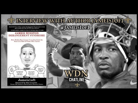 Author Jameis1of1 Talks About Jameis Winston And Gives Thoughts On Pats vs Saints Game https://youtu.be/E_w7BcWA3ig