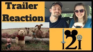 CHRISTOPHER ROBIN Official Trailer Reaction