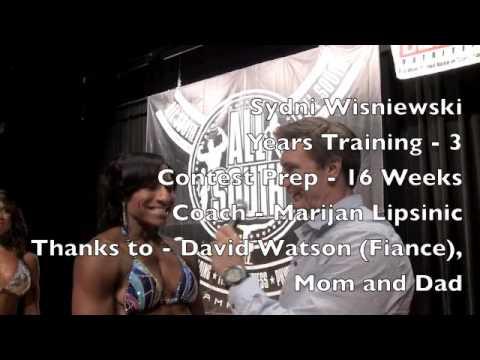 Sydni Wisniewski Women's Physique 2014 NPC All South
