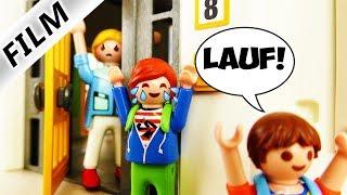 Playmobil Film Deutsch KLINGELJAGD BEI JULIANS LEHRERN! WIE SEHEN LEHRER PRIVAT AUS? Familie Vogel