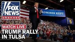 Live: Trump holds MAGA rally in Tulsa, OK
