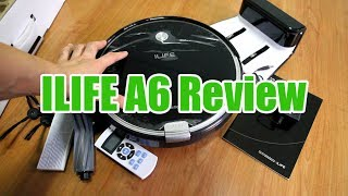 iLIFE A6 Review: Features and Cleaning Test