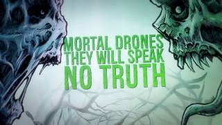 A Night In Texas - Mortal Drones (OFFICIAL LYRIC VIDEO)