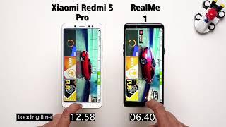 Realme 1 vs Xiaomi Redmi Note 5 Pro Speed Test: Comparison