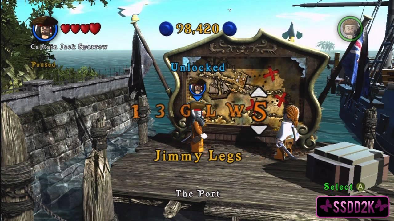 lego pirates of the caribbean cheats xbox 360 walkthrough