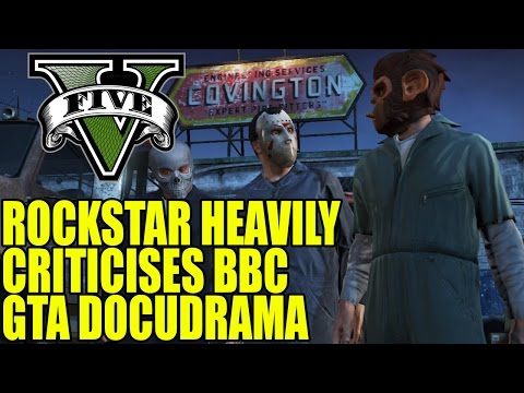 Rockstar Heavily Criticises BBC Grand Theft Auto Docudrama The Game Changers