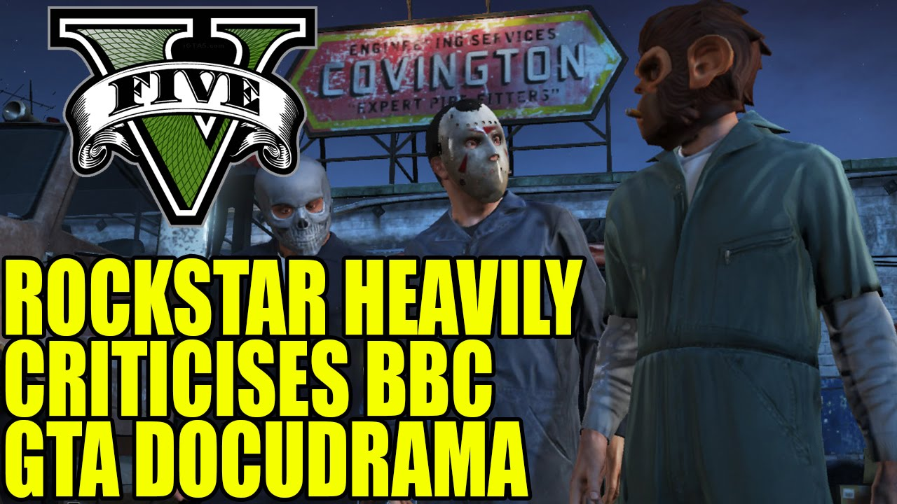 Download Rockstar Heavily Criticises BBC Grand Theft Auto Docudrama The Game Changers