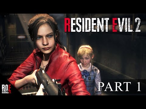 RESIDENT EVIL 2: REMAKE || Looking For My Brother (Claire B/Part 1)